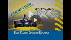 Zodiac MX8 Suction Pool Cleaner Basic Operation